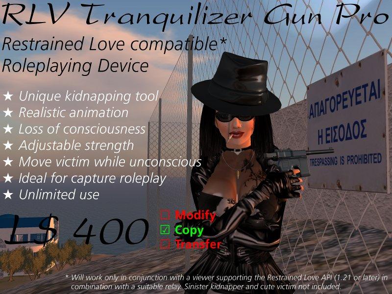 RLV Tranquilizer Gun Pro